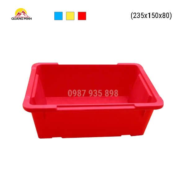 Thung-nhua-A4-mau-do-235x150x80