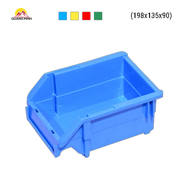 Thung-nhua-dac-A5-song-bit-mau-xanh-198x135x90