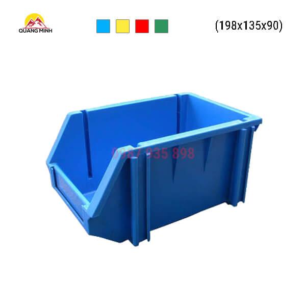 Thung-nhua-dac-A5-song-bit-mau-xanh-lam-198x135x90