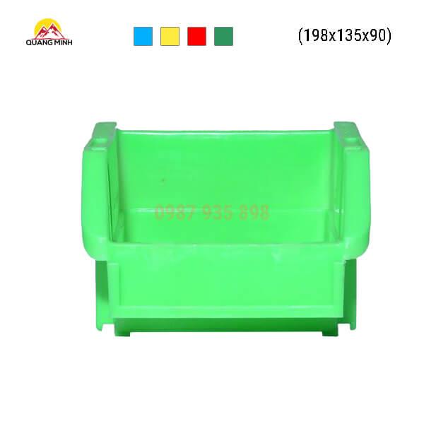 Thung-nhua-dac-A5-song-bit-mau-xanh-nc-198x135x90