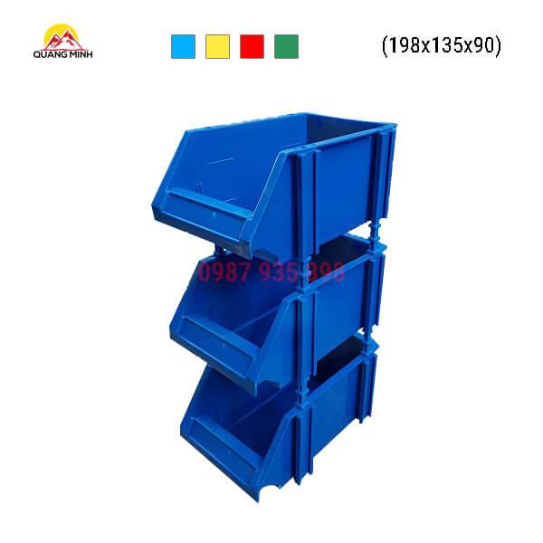 Thung-nhua-dac-A5-song-bit-mau-xanh-xc-198x135x90