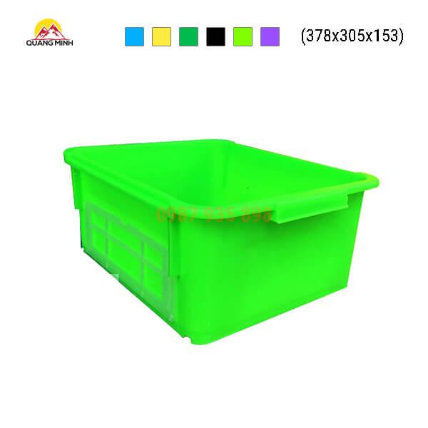 thung-nhua-dac-a3-song-bit-mau-xanh-non-chuoi-378x305x153