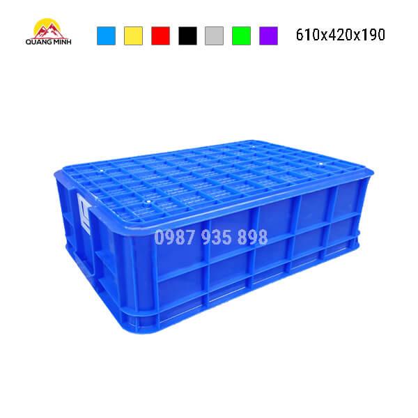 thung-nhua-dac-hs-003sb-song-bit-mau-xanh-7-610x420x190
