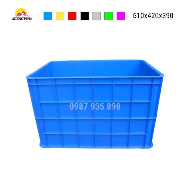 thung-nhua-dac-hs026sb-song-bit-mau-xanh-lam-610x420x390