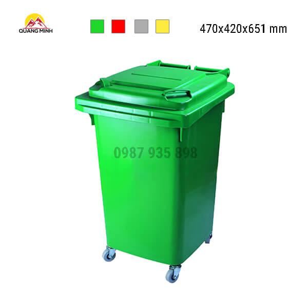 thung-rac-cong-nghiep-60-lit-mau-xanh