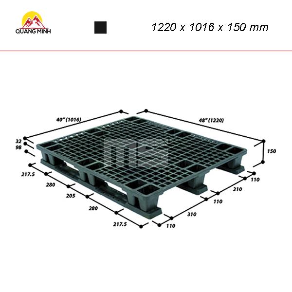 pallet-nhua-den-9len4-4840sl-1220-x-1016-x-150-mm (2)