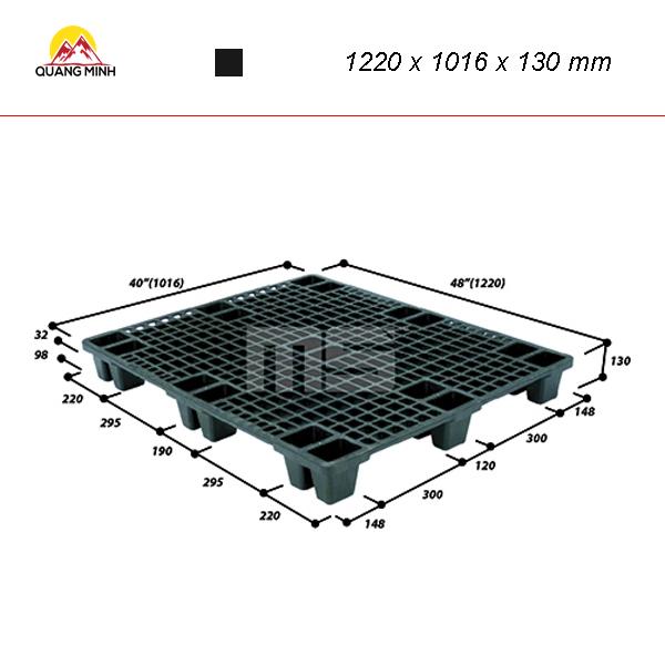 pallet-nhua-den-9ln4-4840sl-1220-x-1016-x-130-mm (2)