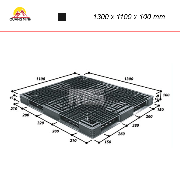 pallet-nhua-den-r4-1311sl-1300-x-1100-x-100-mm