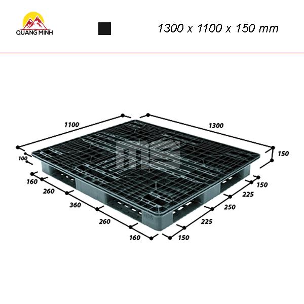 pallet-nhua-den-r4-1311slw-1300-x-1100-x-150-mm