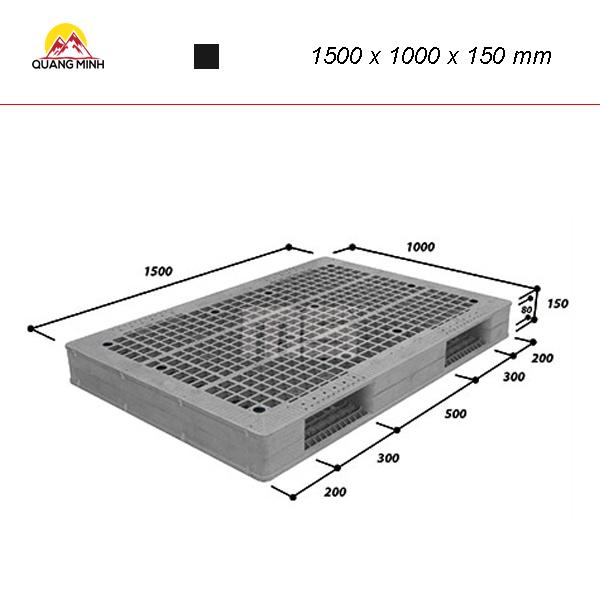 pallet-nhua-kho-wr2-1510-1500-x-1000-x-150-mm