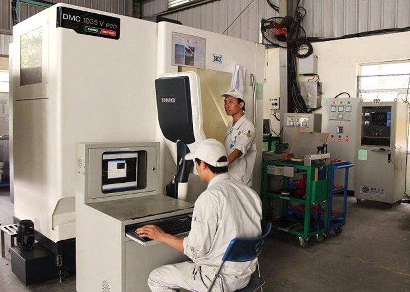 Máy phay CNC DMG Mori model DMC 1035V eco
