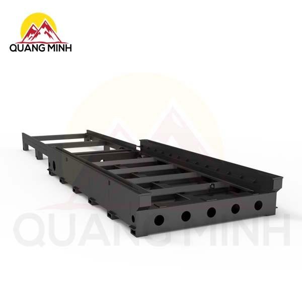 Giường hàn thép tấm siêu nặng Máy cắt Laser sợi quang bảo vệ OR-H